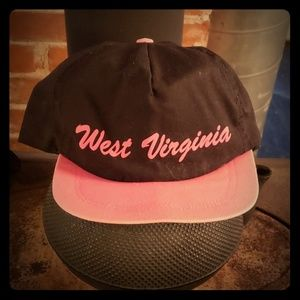 Vintage trucker hat West Virginia